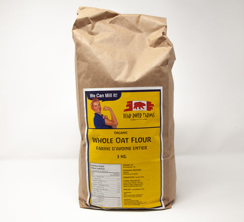 Bear River Oat Flour