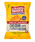 Covered Bridge Cheddar Crinkle Cut Chips