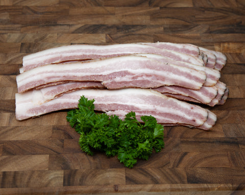 Dry Cured Belly Bacon