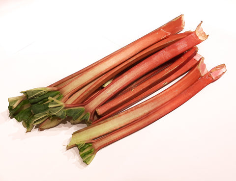 Spray-Free Rhubarb