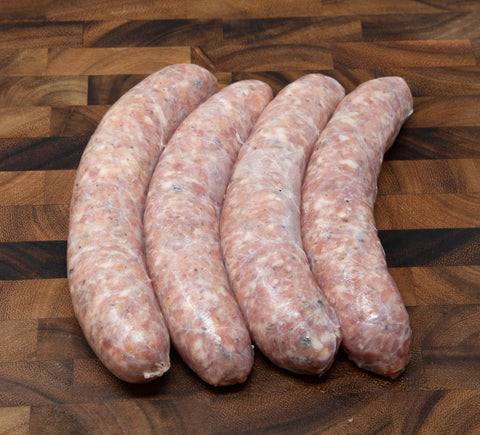 Maple Orange Rosemary Sausage