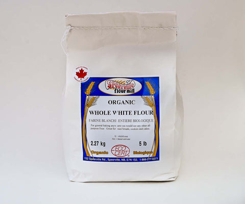 Speerville Organic Whole White Flour