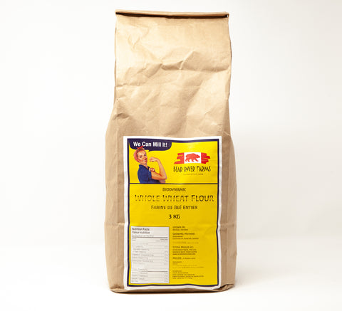 Bear River Whole Wheat Flour