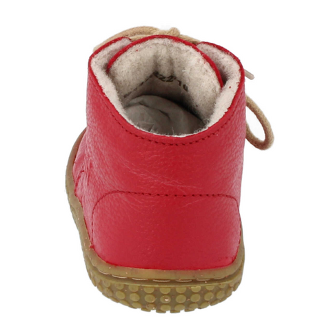 SOFTTOE BIO NAPPA FIRE WOOL FLEECE LACES - M