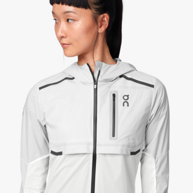 Weather Jacket - Grey I White