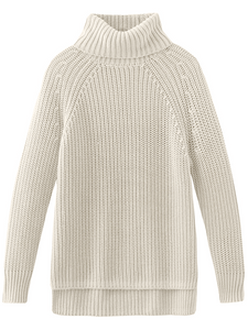 525 shaker knit turtle neck