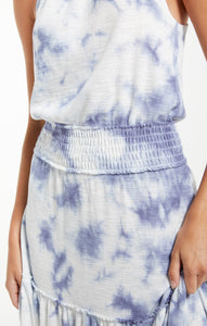 Z SUPPLY BEVERLY CLOUD TIE DYE DRESS