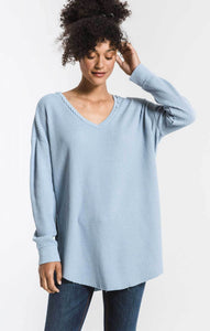 Z SUPPLY WAFFLE THERMAL TUNI TOP