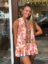 Load image into Gallery viewer, Free People Combo Ruffle Tank