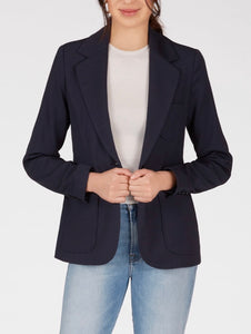 525 Soft Tailored Navy Blazer