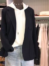 Load image into Gallery viewer, 525 Soft Tailored Navy Blazer