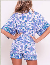 Load image into Gallery viewer, BLUE LAGOON ROMPER