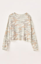 Load image into Gallery viewer, Z SUPPLYCELINE CAMO LONG SLEEVE TOP