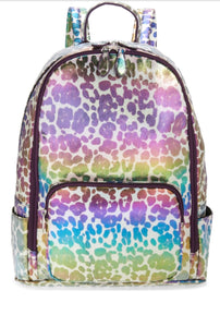 Iridescent Leopard Backpack