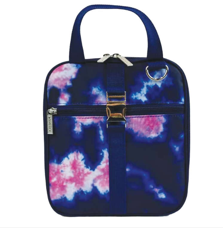 Pink and Blue Tiedye Lunch Box