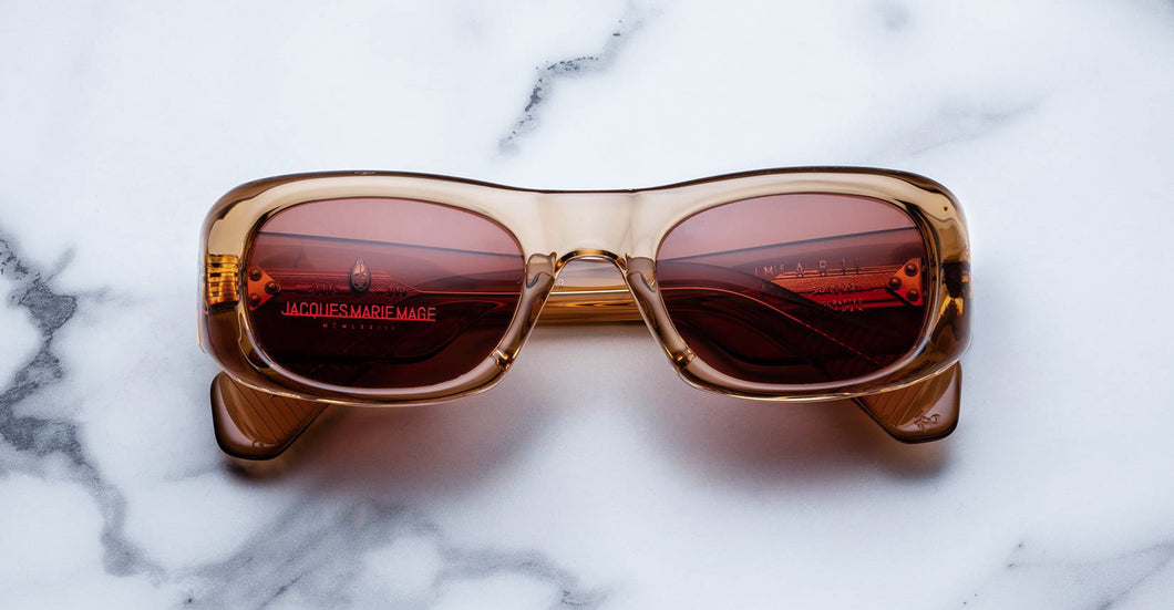 Jacques Marie Mage Ari Tan Limited Edition Sunglasses