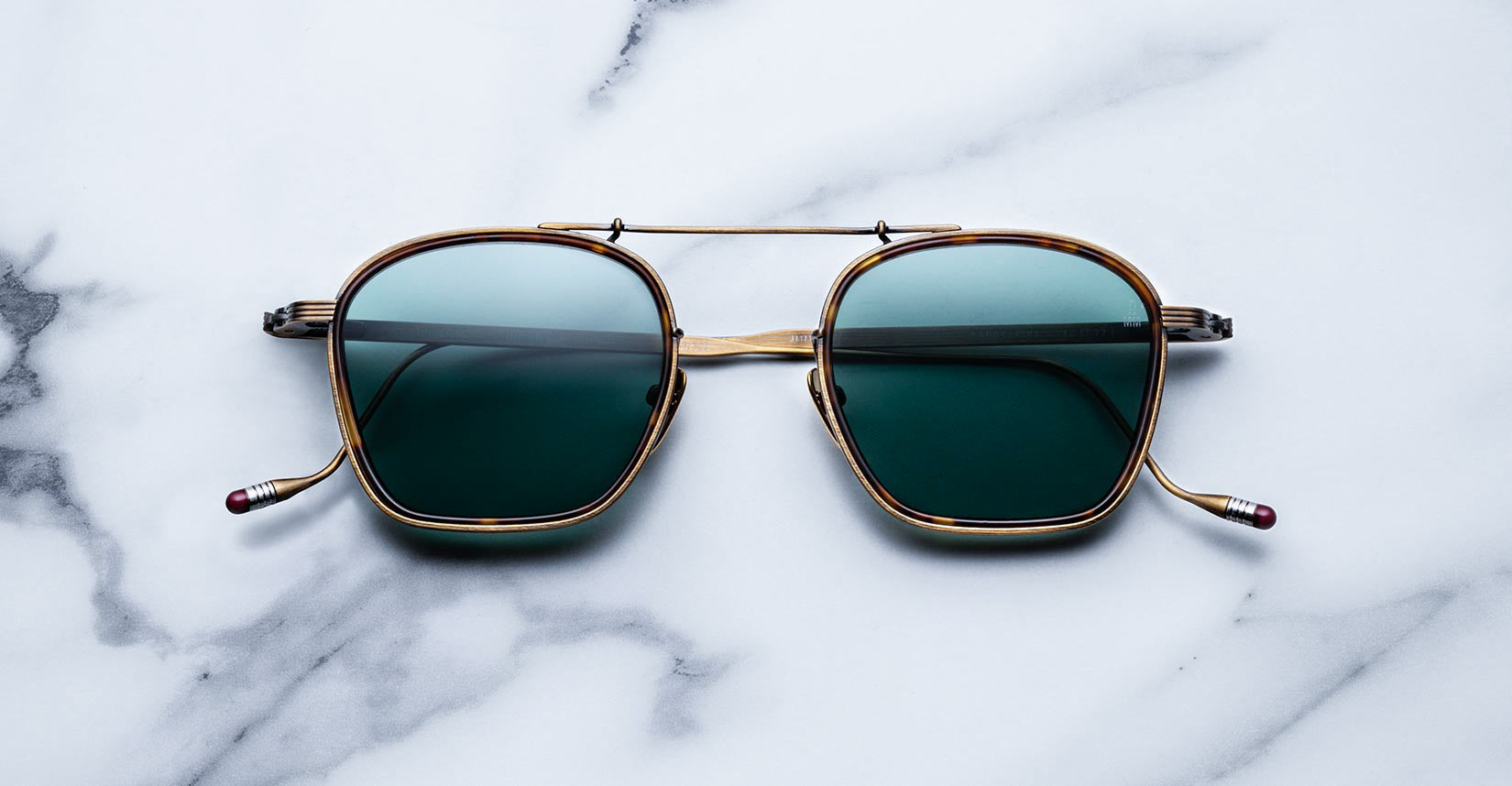 Jacques Marie Mage Baudelaire GoldAntique Limited Edition Sunglasses