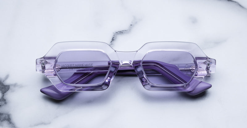 Jacques Marie Mage Carmen Lilac Limited Edition Sunglasses