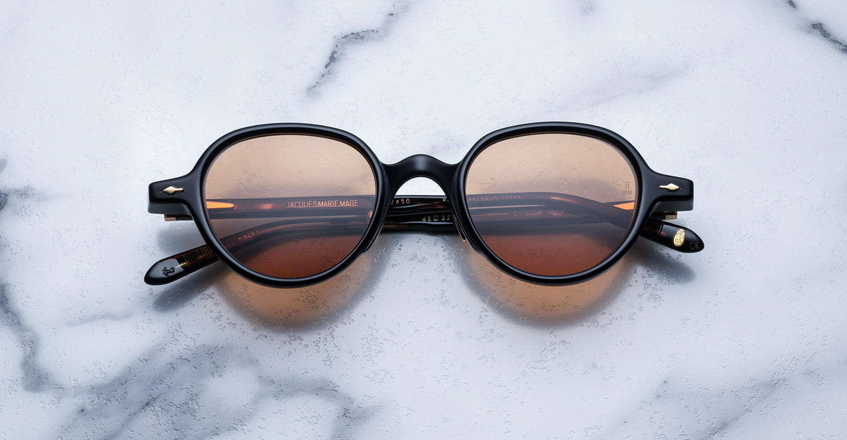 Jacques Marie Mage Clark Noir Limited Edition Sunglasses