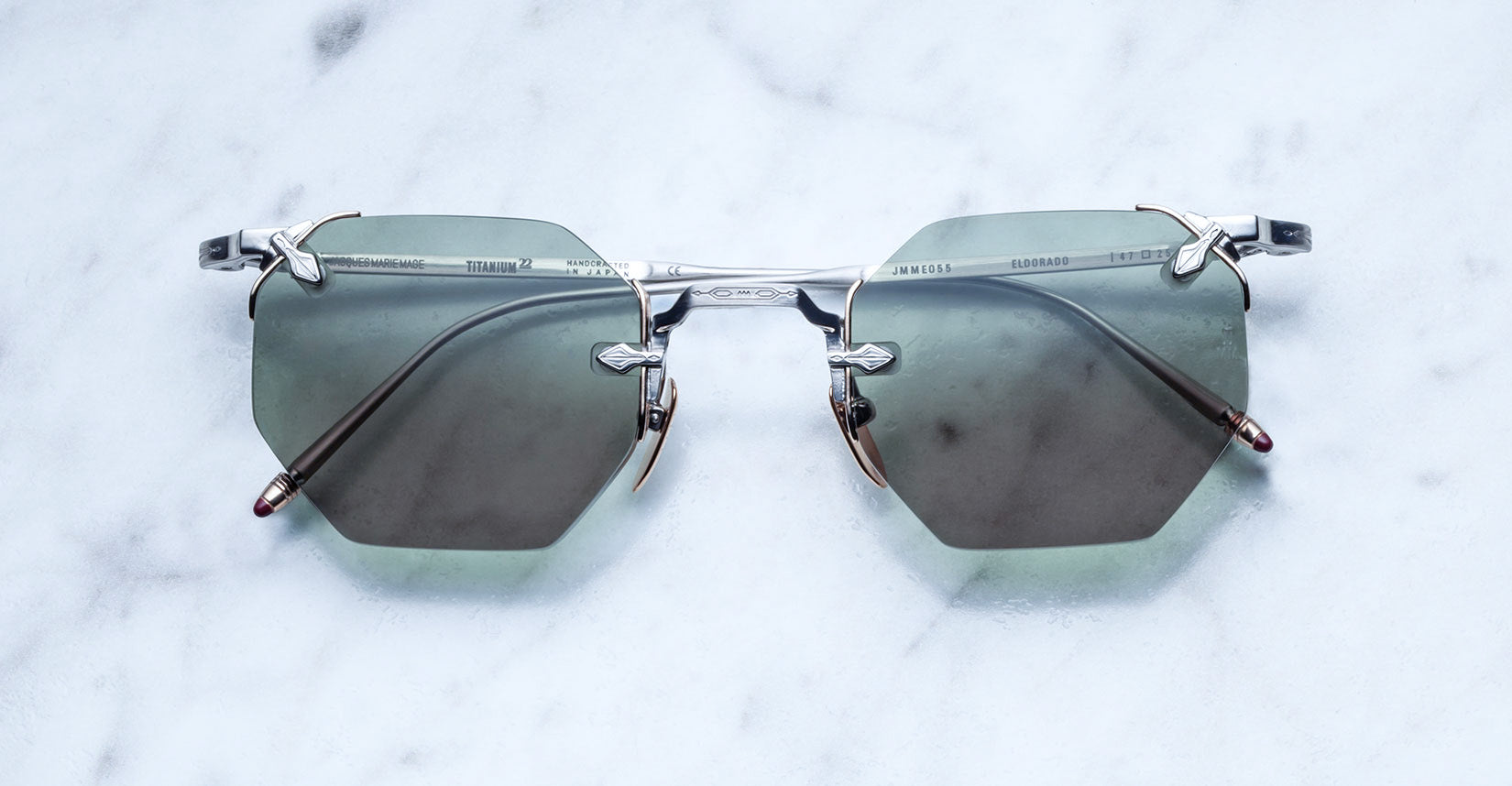 Jacques Marie Mage El Dorado Antique Limited Edition Sunglasses