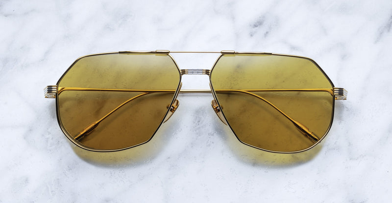 Jacques Marie Mage Reynold Gold Limited Edition sunglasses