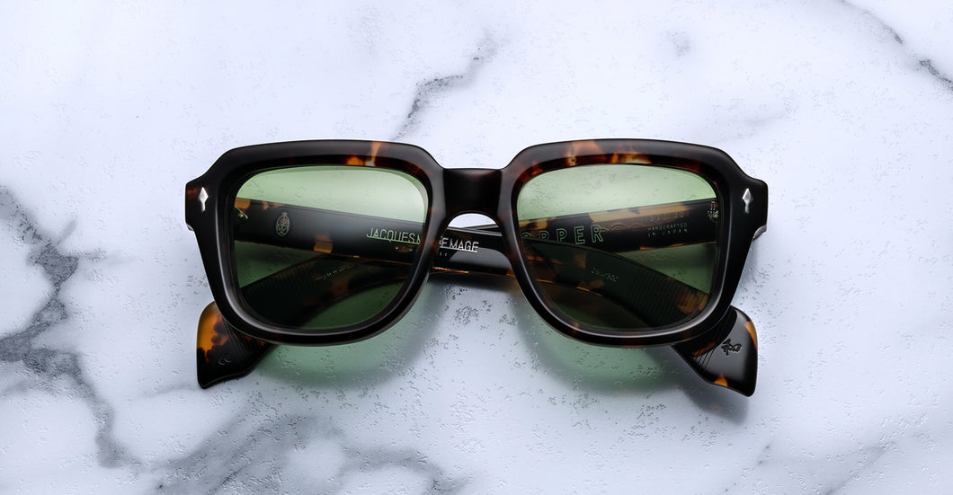Jacques Marie Mage Taos Lava Limited Edition sunglasses