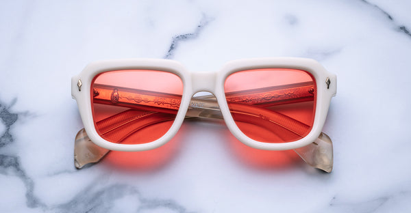 Jacques Marie Mage Taos OffWhite  Limited Edition sunglasses