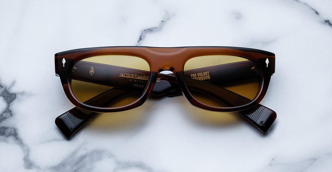 Jacques Marie Mage WhiteLight Hickory Limited Edition sunglasses