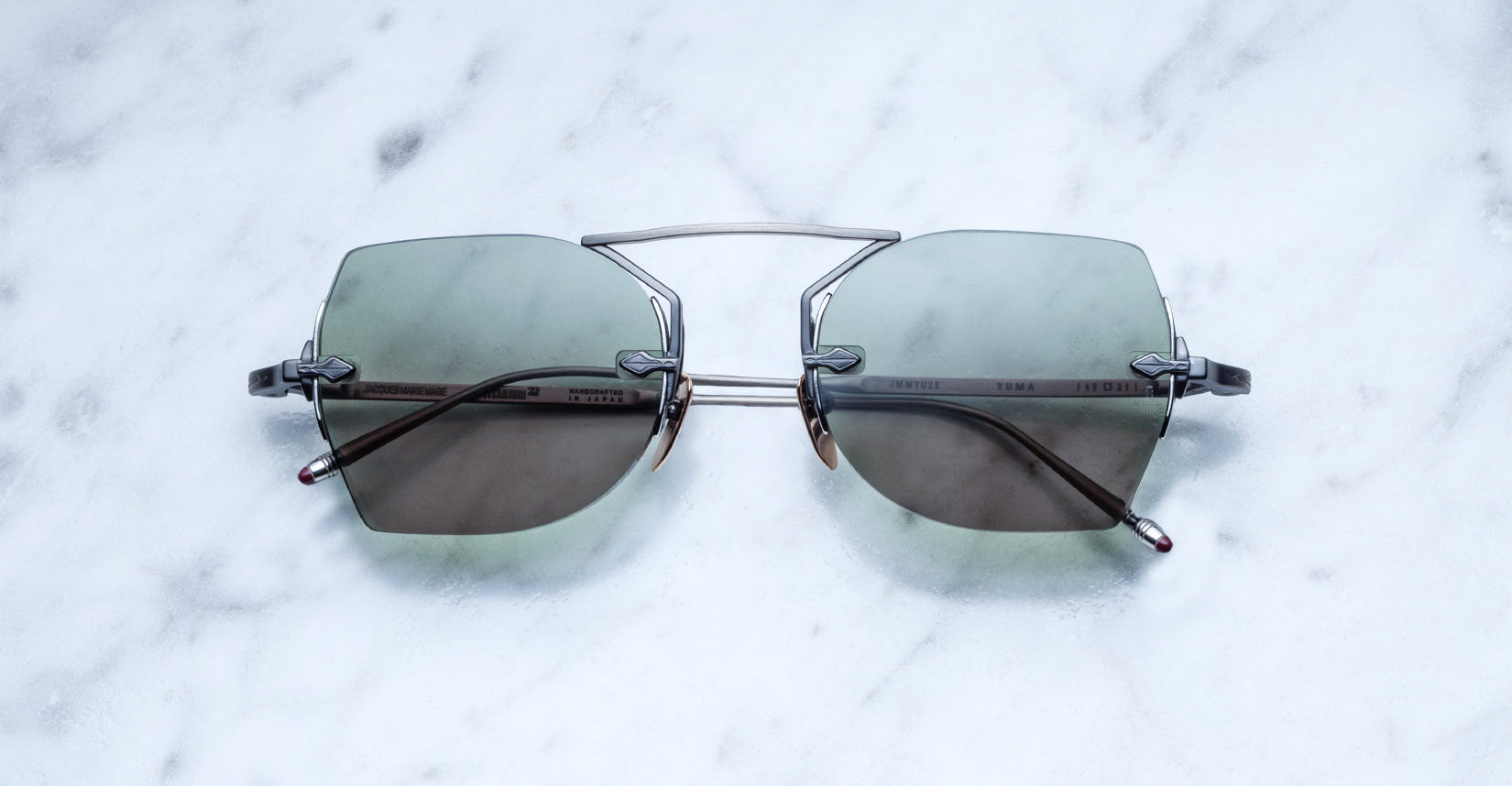 Jacques Marie Mage Yuma Steel Limited Edition sunglasses