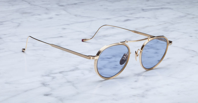 Jacques Marie Mage Apollinaire Gold Limited Edition Sunglasses