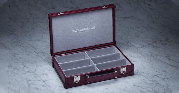 Jacques Marie Mage custom Hardcase leather red Limited Edition