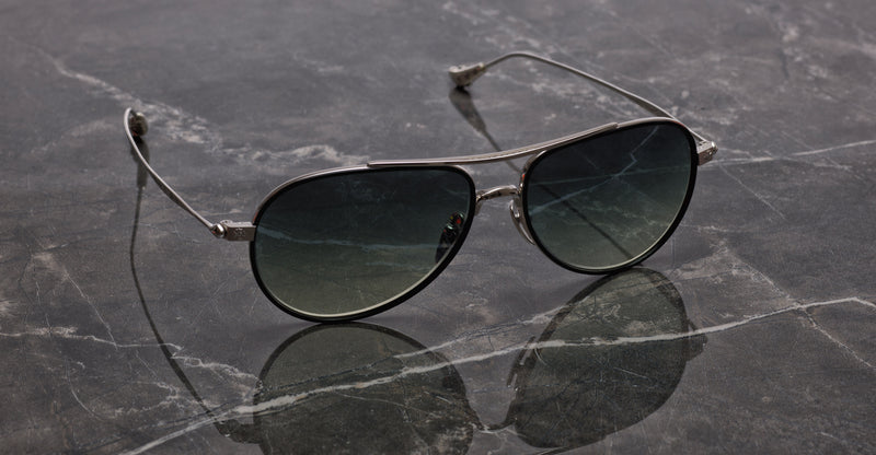 Chrome Hearts | Bone Prone V | Black & Silver | Sunglasses | leidmann.com