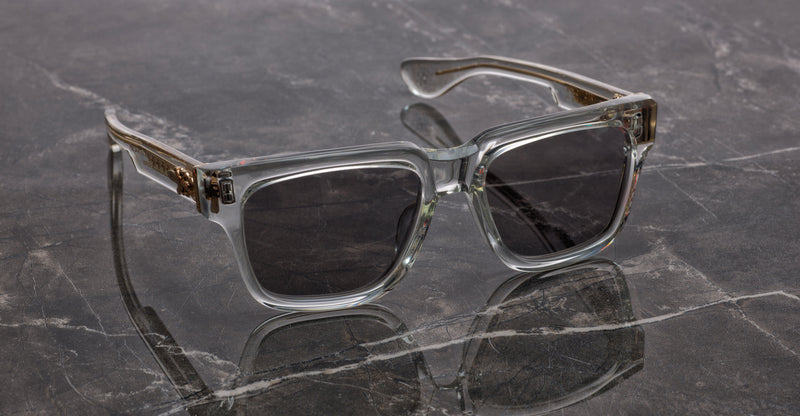 Chrome Hearts | Box Officer | Crystall | Sunglasses | leidmann.com