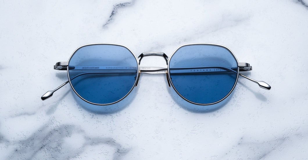 Jacques Marie Mage Fontana Silver Limited Edition Sunglasses
