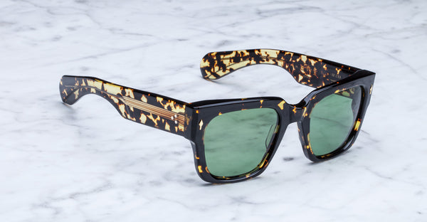 Jacques Marie Mage Enzo Amber Limited Edition Sunglasses