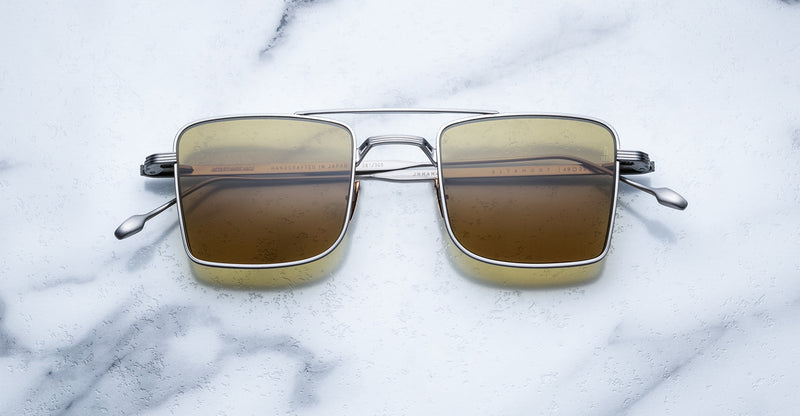 Jacques Marie Mage Altamont Silver Limited Edition Sunglasses