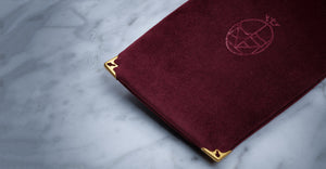 Softcase Velvet Burgundy
