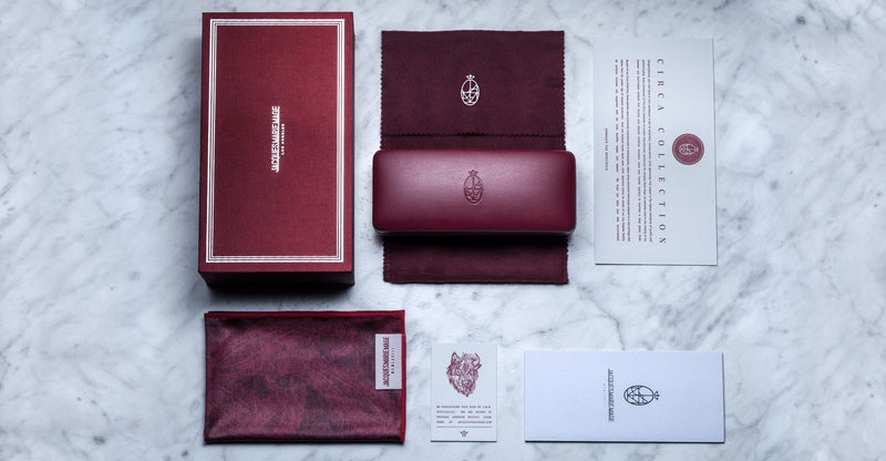 Jacques Marie Mage Softcase leather red limited edition
