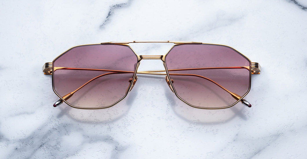 Jacques Marie Mage Bandit Gold Limited Edition Sunglasses