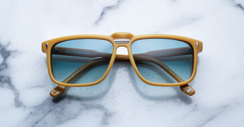 Jacques Marie Mage Savile Mustard Limited Edition sunglasses