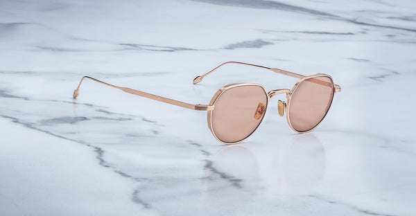 Jacques Marie Mage Fontana RoseGold Limited Edition Sunglasses