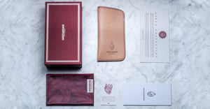 Jacques Marie Mage Softcase leather Brown limited edition