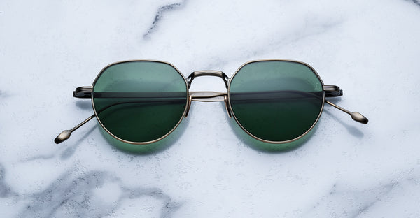 Jacques Marie Mage Fontana GoldAntique Limited Edition Sunglasses