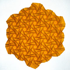 Dense Compound Hexagons with rotated grid