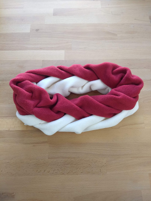 Double Ring Bi-Color Scarf