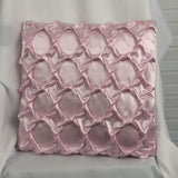 Pink Open Chainlink 14-inch accent pillow