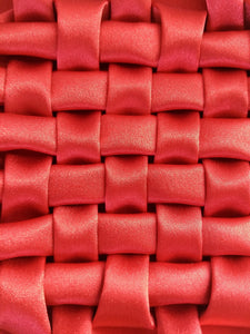 Closed Lattice Weave smocking pattern