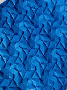 Whirlpools origami tessellation crease pattern