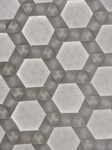 Wrapped Rhombi origami tessellation crease pattern