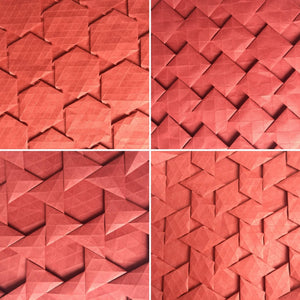 Half-adjacent Tilings tessellation 4-pack